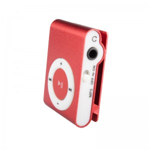Mini MP3 Player Kırmızı