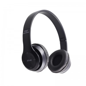 Wireless Headphones Siyah