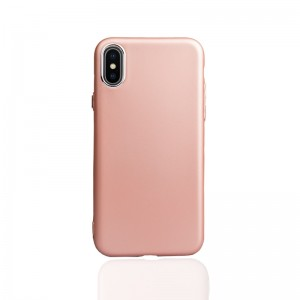 Iphone X Telefon Kılıfı Rose Gold
