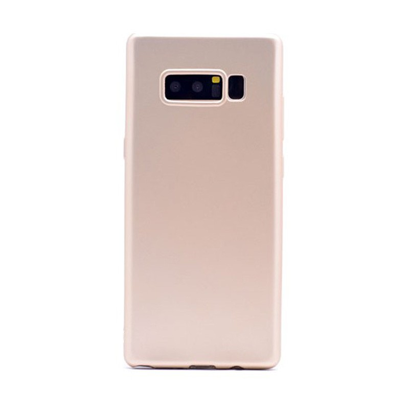 Samsung Galaxy Note 8 Mat Kılıf Gold
